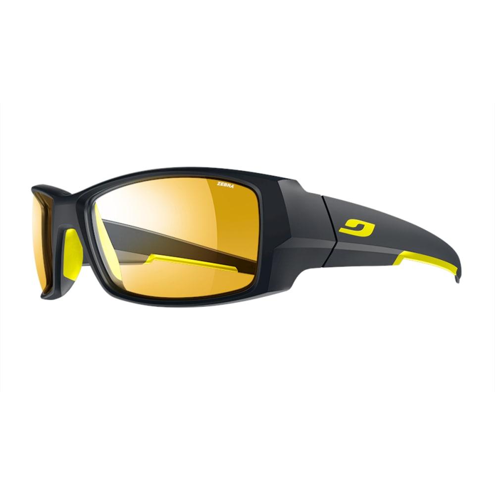 JULBO Armor Sunglasses with Zebra, Matt Blue/Yellow - BLUE/YELLOW