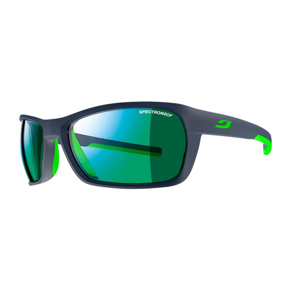 JULBO Blast Sunglasses with Spectron 3CF, Matt dark blue/Green - BLUE/GREEN