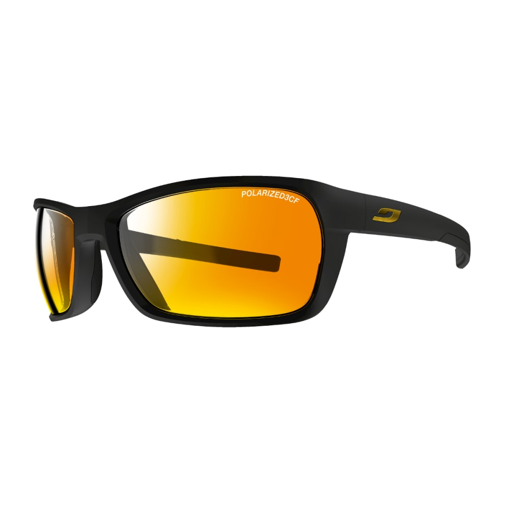 JULBO Blast Sunglasses with Polarized 3CF, Matt black/Black - BLACK