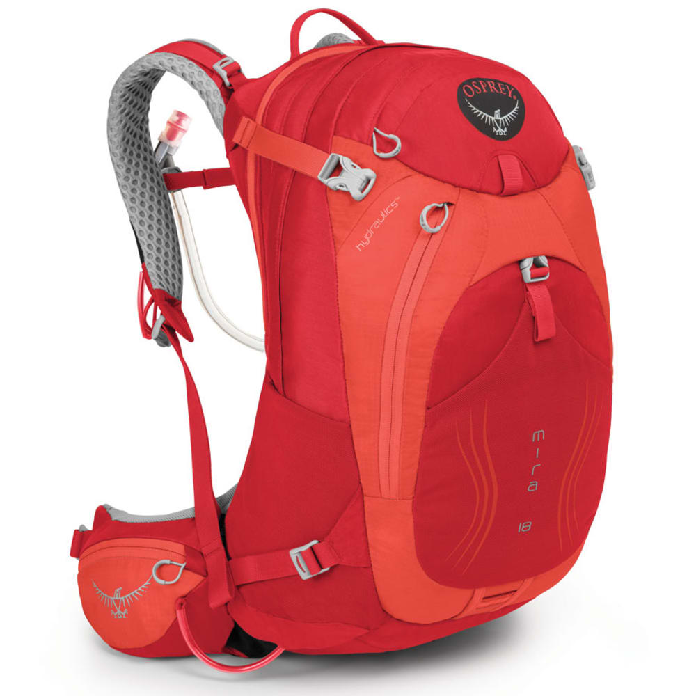 OSPREY Women's Mira AG™ 18 Pack - CHERRY RED