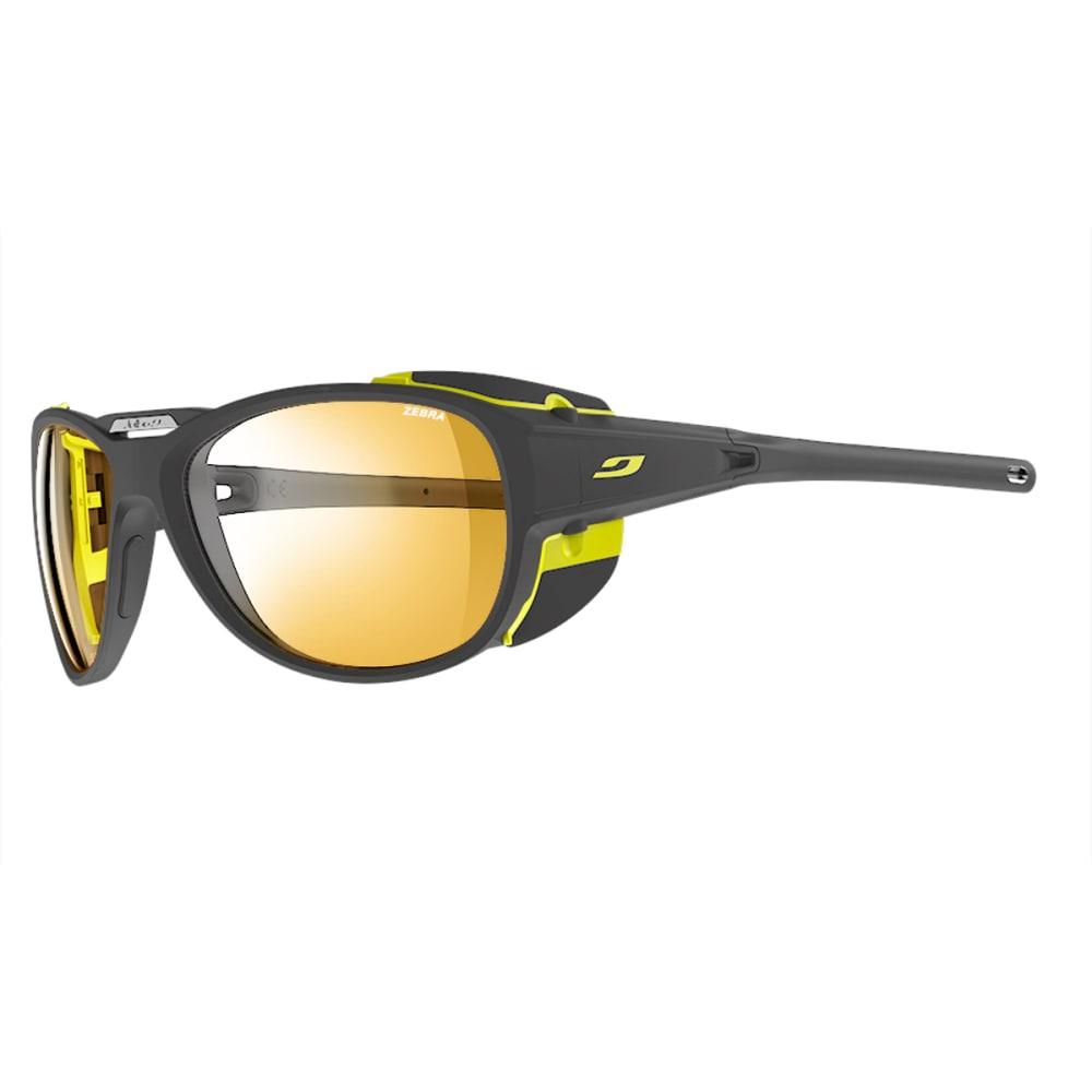 JULBO Explorer 2.0 Sunglasses with Zebra, Matt Grey/Yellow - GREY/YELLOW