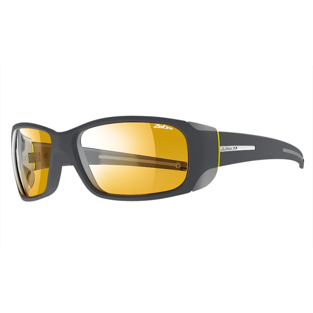 JULBO Montebianco Sunglasses with Zebra, Grey/Yellow - GREY/YELLOW