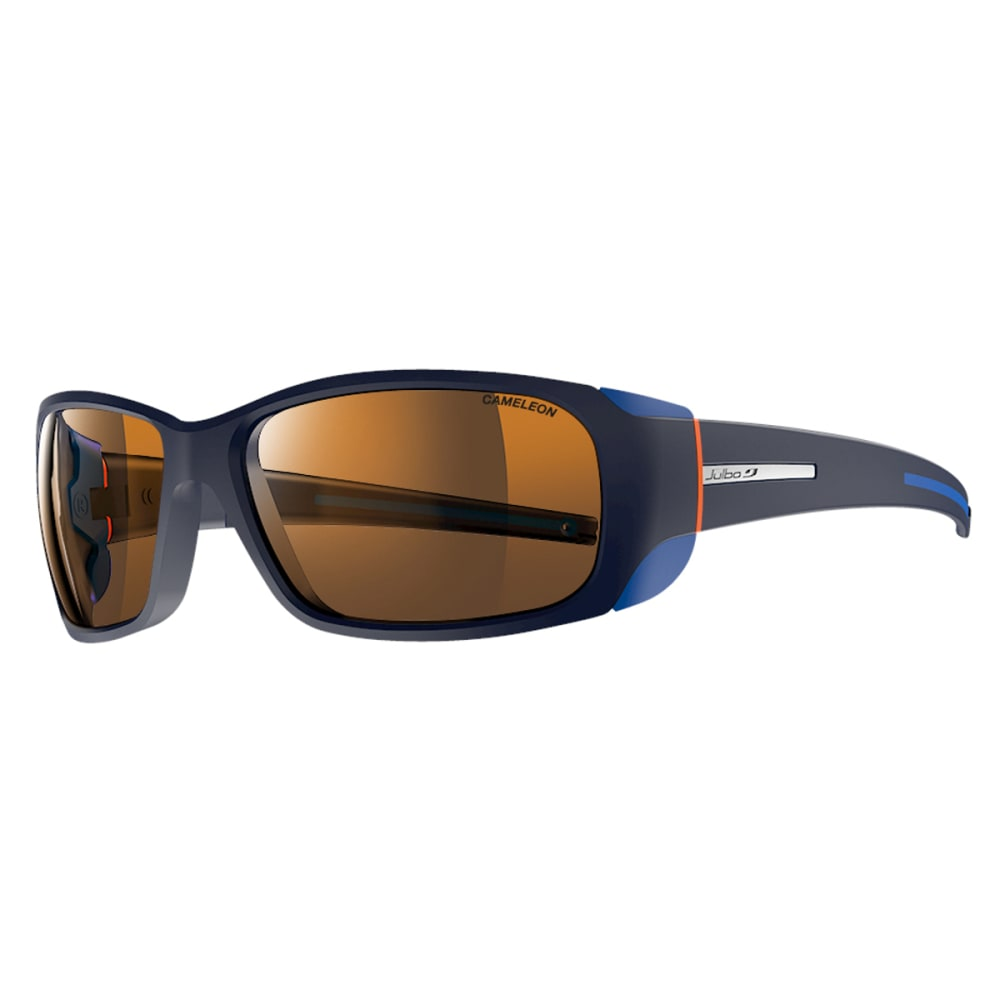 JULBO Montebianco Sunglasses with Camel, Matt Blue/Orange - MATT BLUE/ORANGE