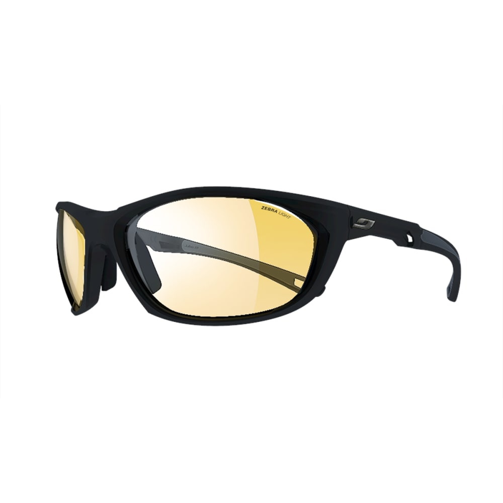 JULBO Race 2.0 Sunglasses with Zebra Light, Black/Grey - BLACK/GREY