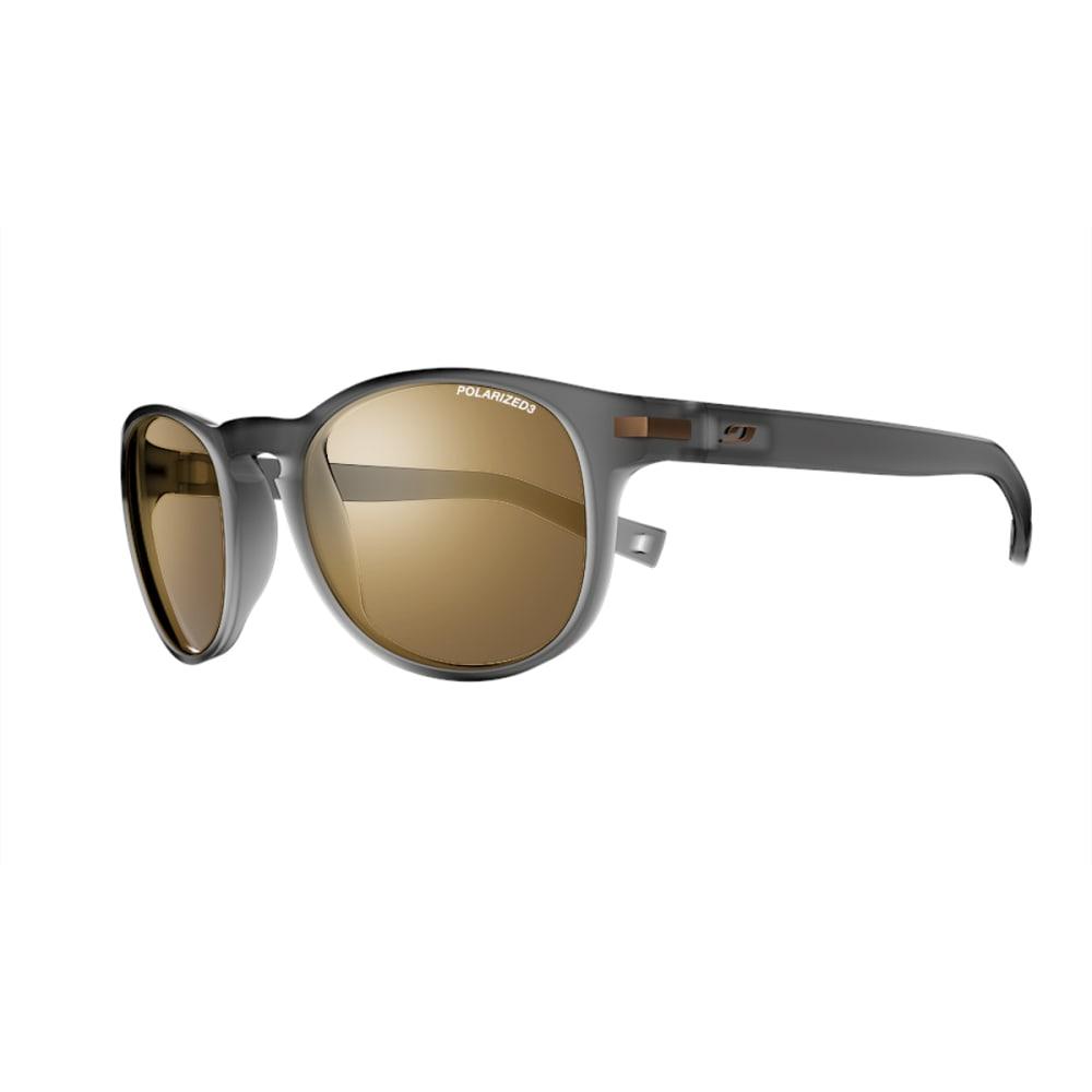 JULBO Valparaiso Sunglasses with Polarized 3 Brown, Matt Translucent Black - TRANSLUCENT BLACK