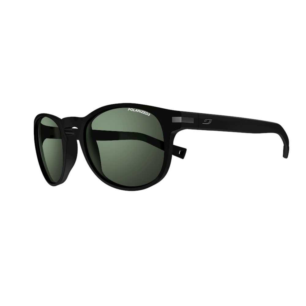 JULBO Valparaiso Sunglasses with Polarized 3 Green, Matt Black - MATT BLACK