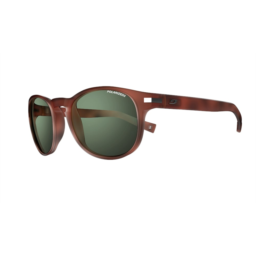 JULBO Valparaiso Sunglasses with Polarized 3 Green, Matt Tortoiseshell - TORTOISE