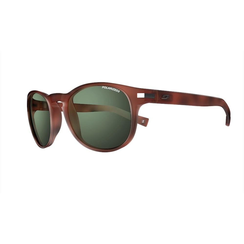 JULBO Valparaiso Sunglasses with Polarized 3 Green, Matt Tortoiseshell - TORTOISE