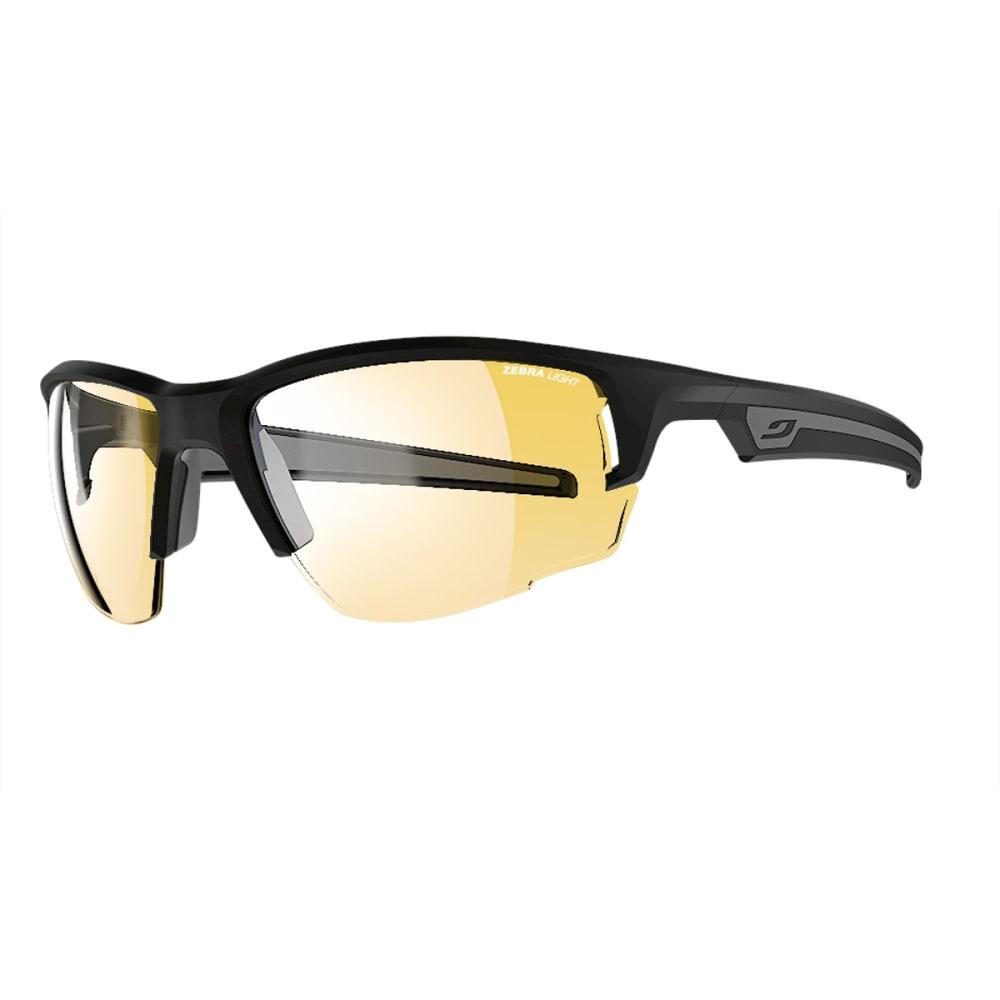 JULBO Venturi Sunglasses with Zebra Light, Matt Black/Grey - MATT BLACK/GREY
