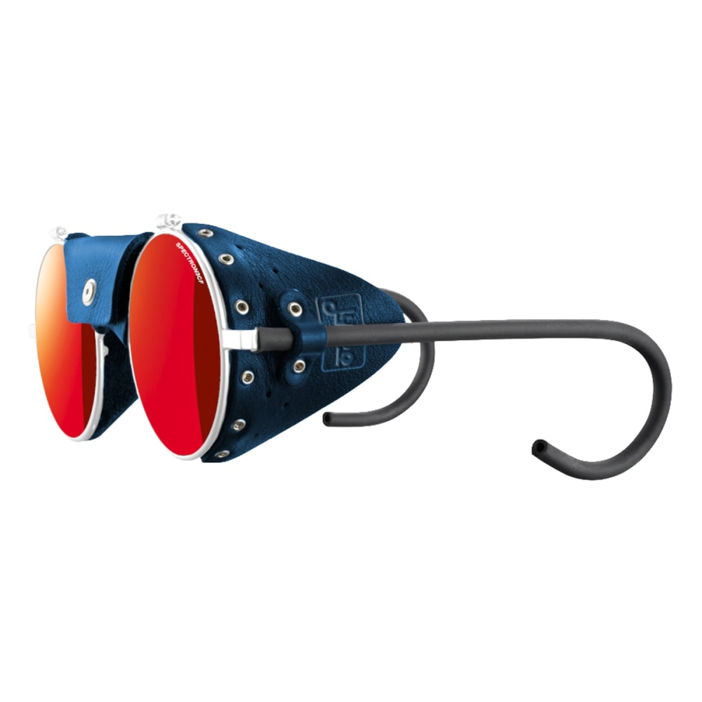 JULBO Vermont Classic Sunglasses with Spectron 3CF, White/Blue - WHITE/BLUE