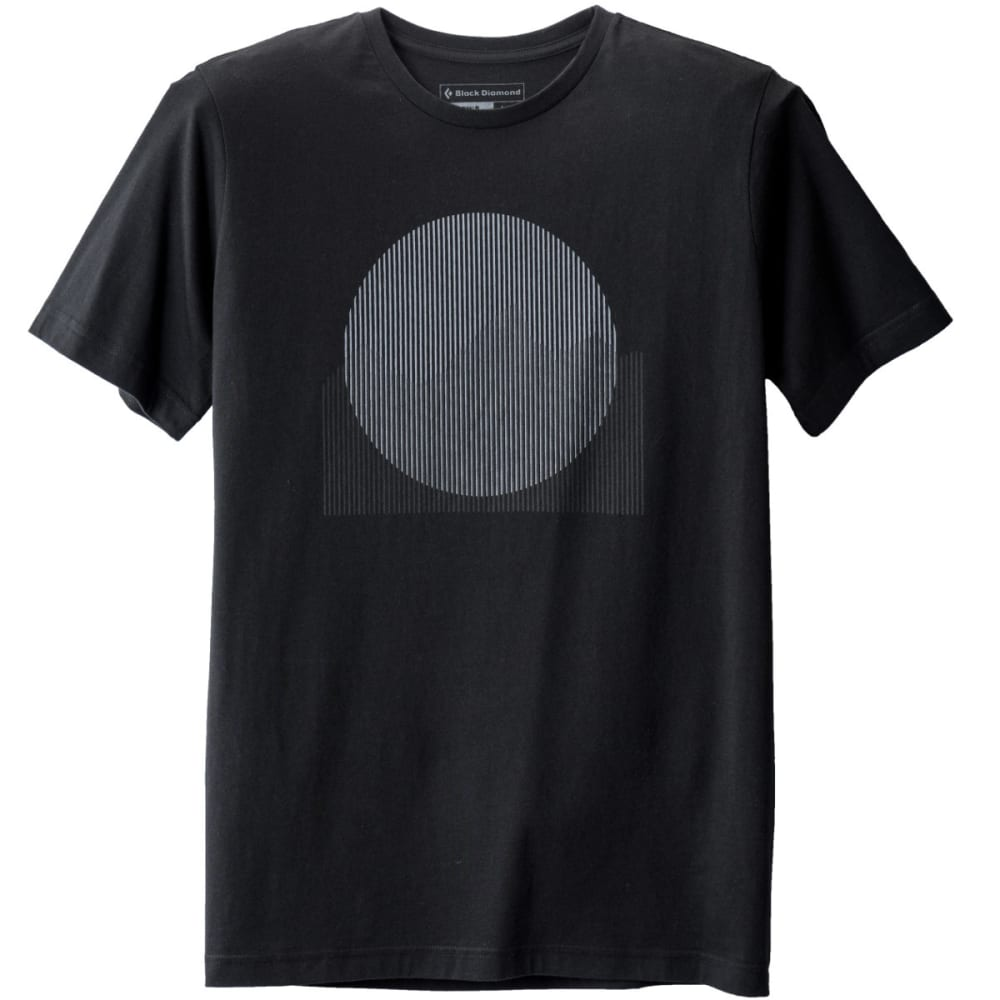 BLACK DIAMOND Men's S/S Landscape Tee - BLACK