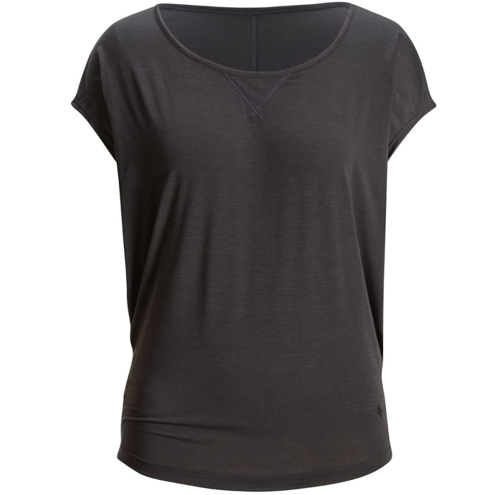 BLACK DIAMOND Women's Arete Tee - BLACK