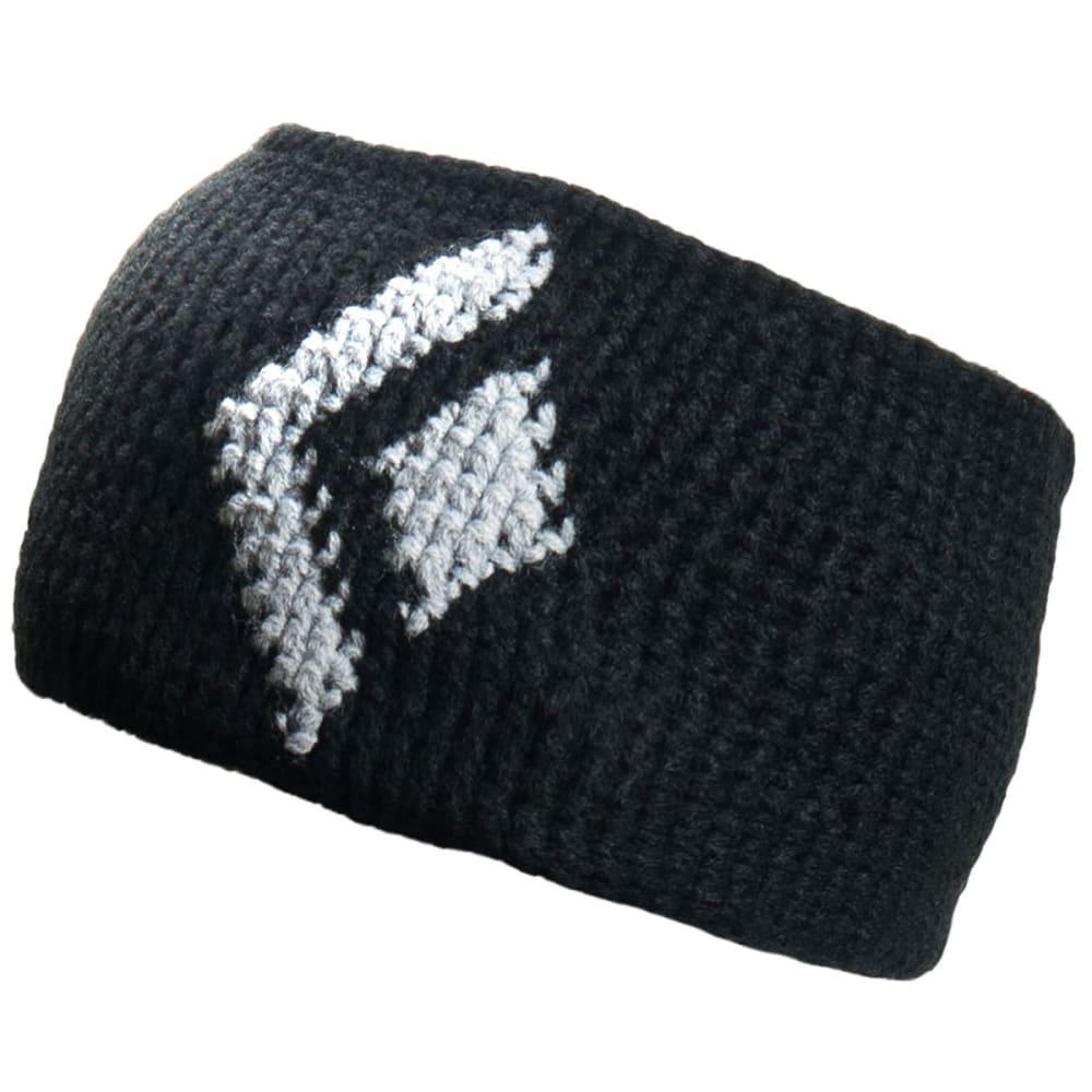 BLACK DIAMOND Icon Headband - BLACK-ALUMINUM