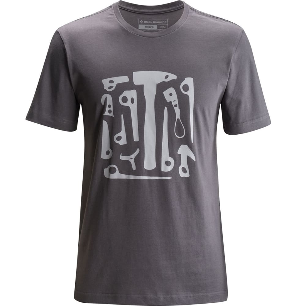 BLACK DIAMOND Men's Big Wall Tool Tee - SLATE