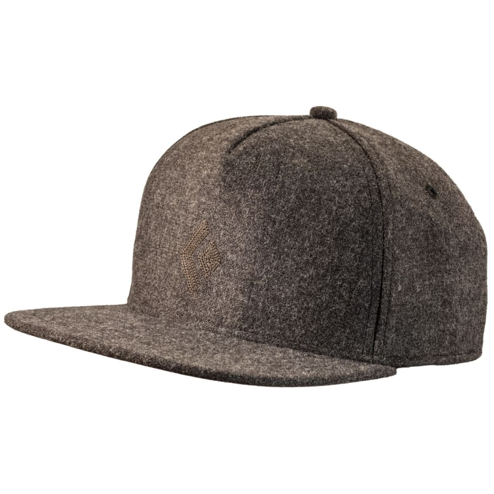 BLACK DIAMOND Wool Trucker Hat - SMOKE
