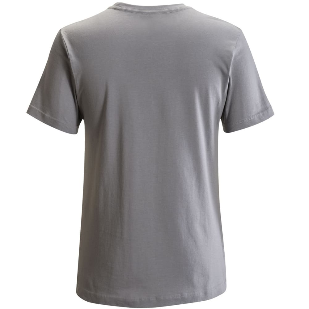 BLACK DIAMOND Men's Chalked Up Tee - NICKEL