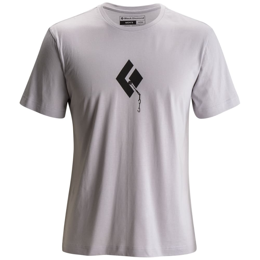 BLACK DIAMOND Men's Placement Tee - ALUMINUM