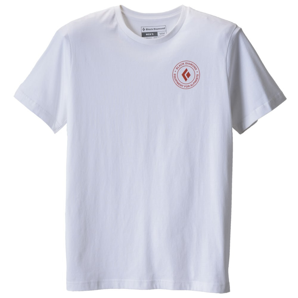 BLACK DIAMOND Men's S/S Circle Logo Tee - WHITE
