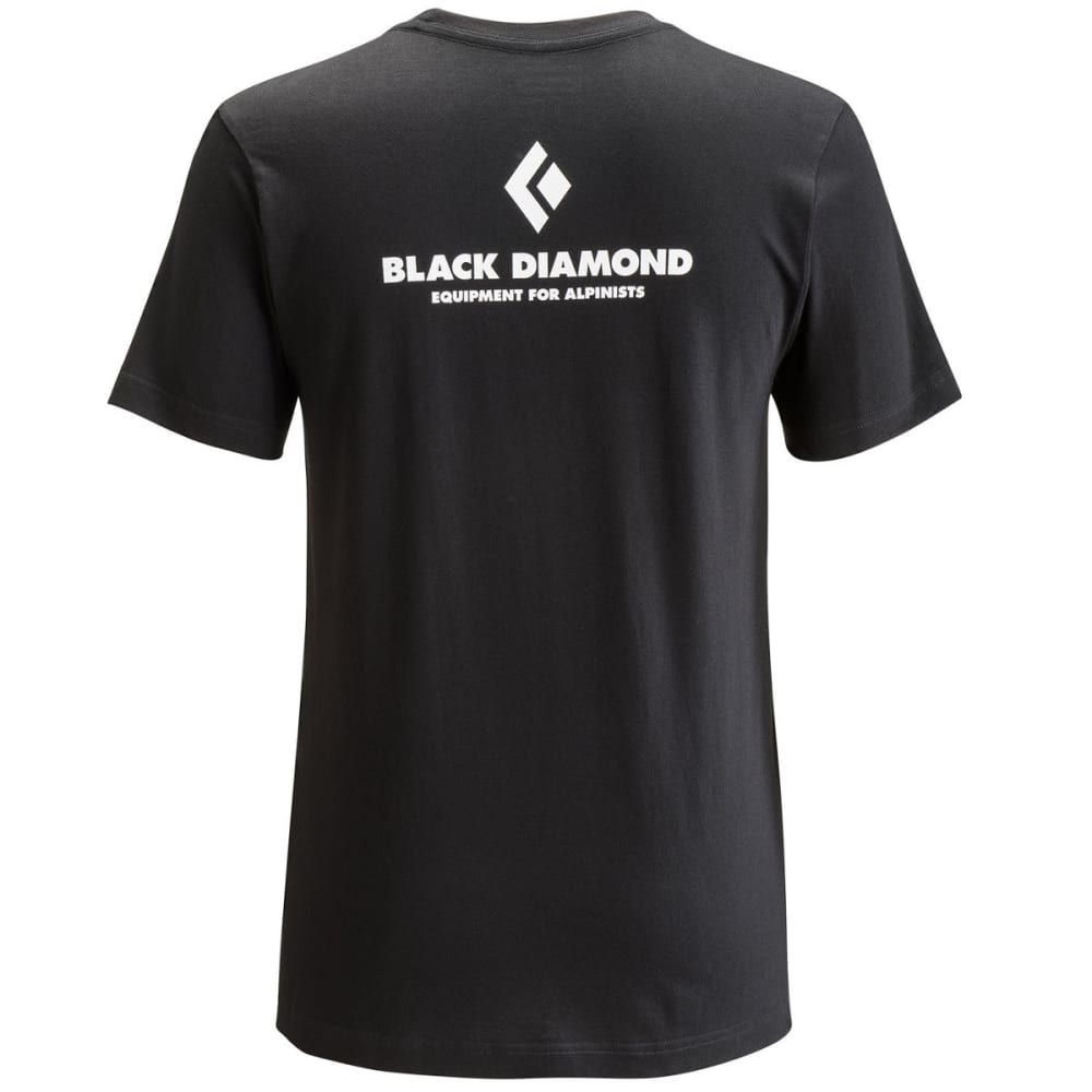 BLACK DIAMOND Men's Equipment For Alpinists Tee - BLACK