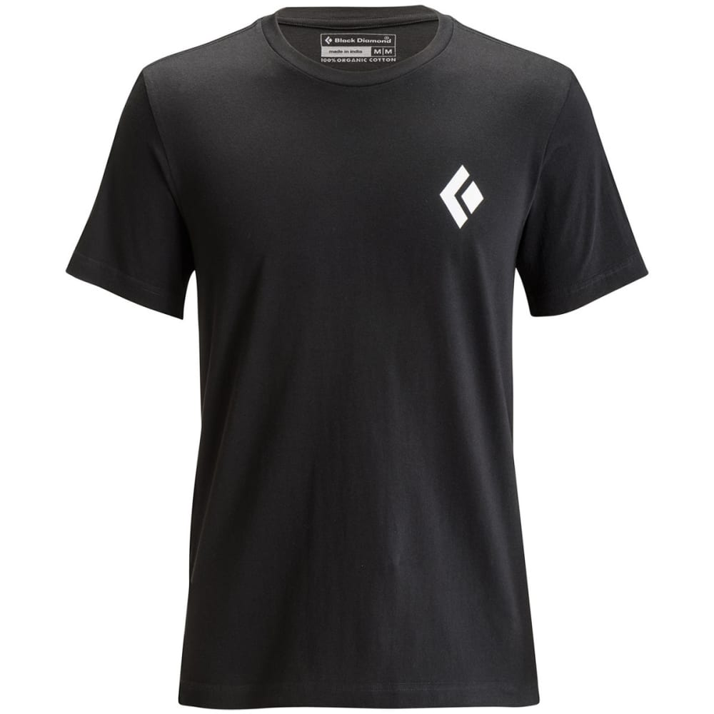 BLACK DIAMOND Men's Equipment For Alpinists Tee - BLACK