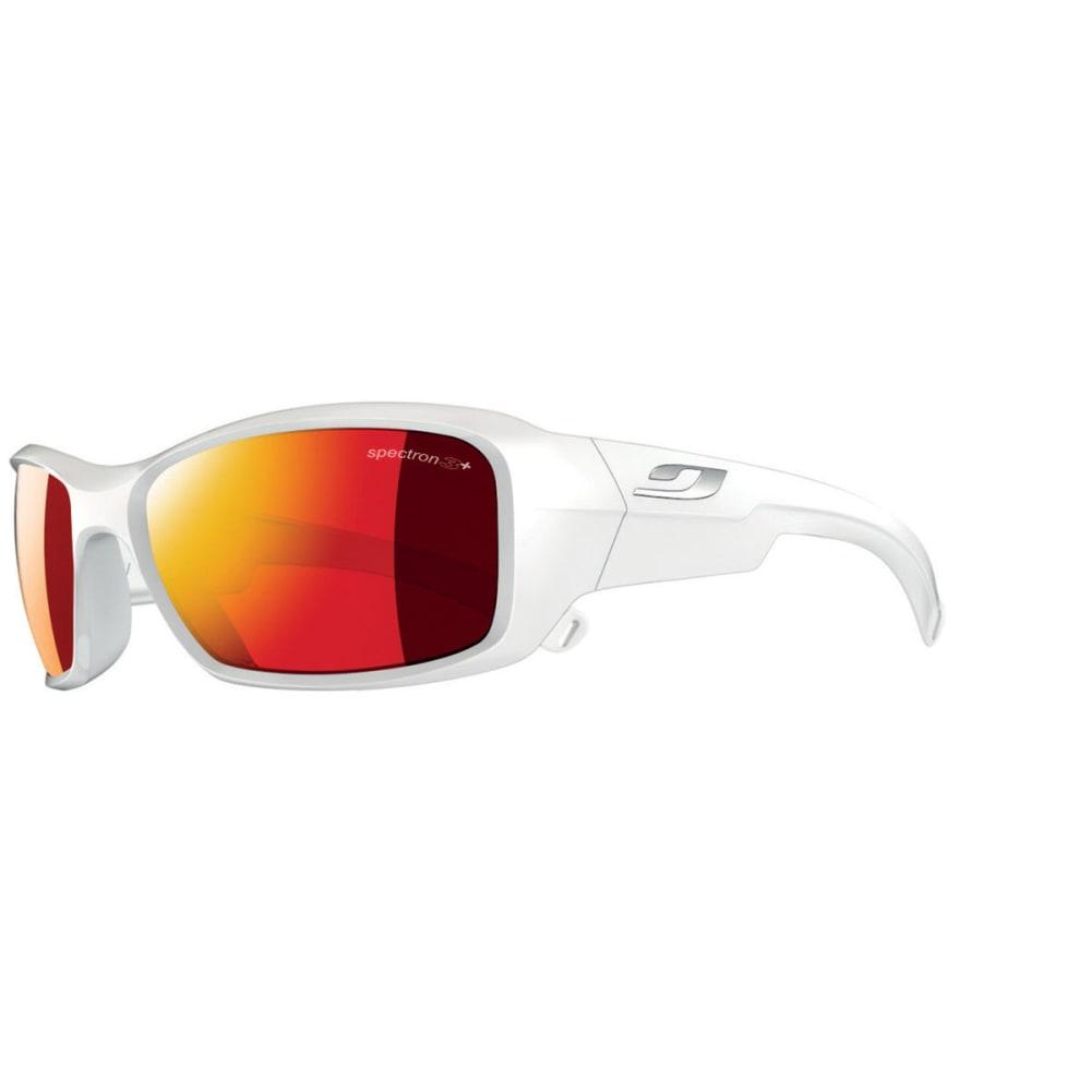 JULBO Youth Rookie Sunglasses with Spectron 3CF, Shiny White - SHINY WHITE