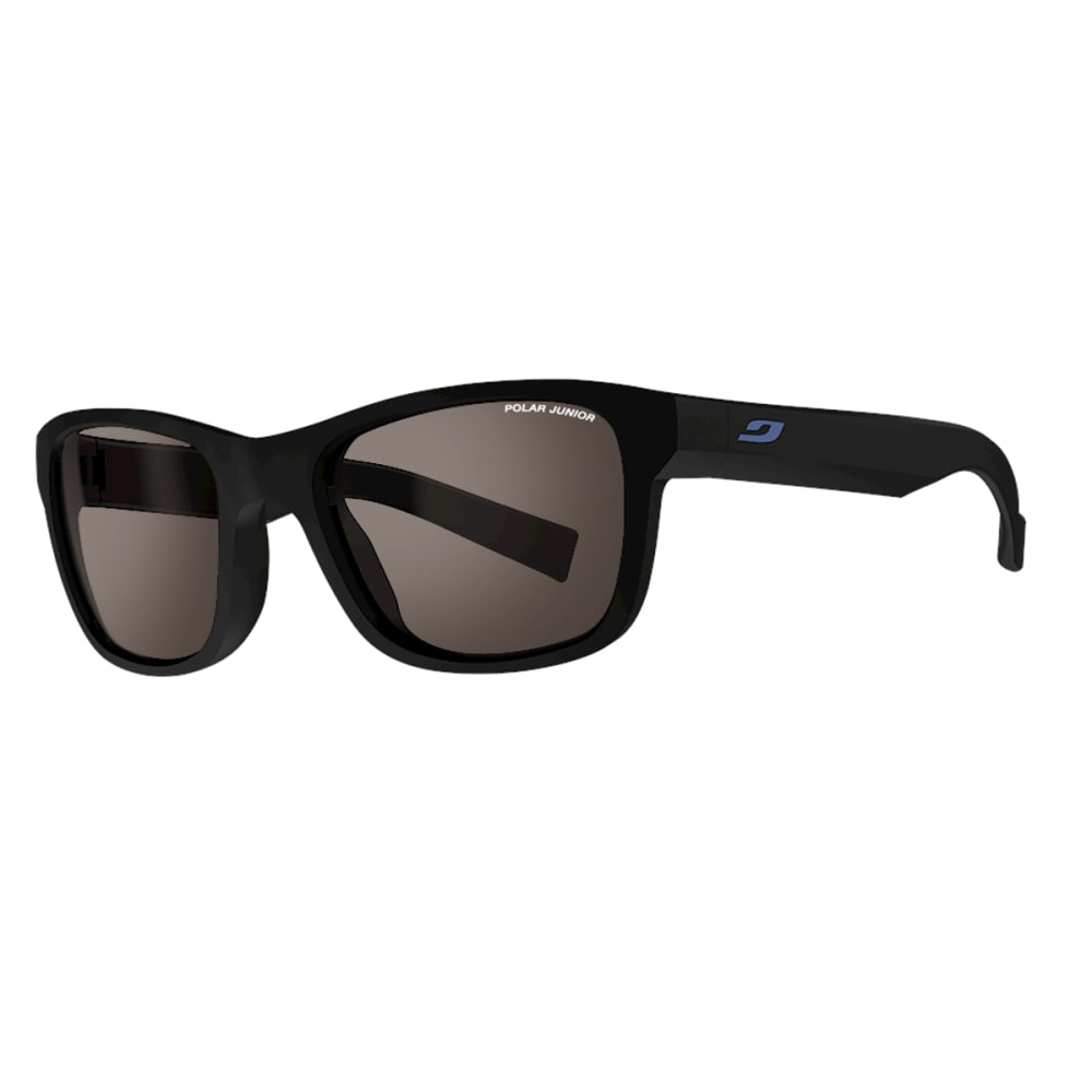 JULBO Youth Reach L Sunglasses with Polarized, Matt Black - MATTE BLACK