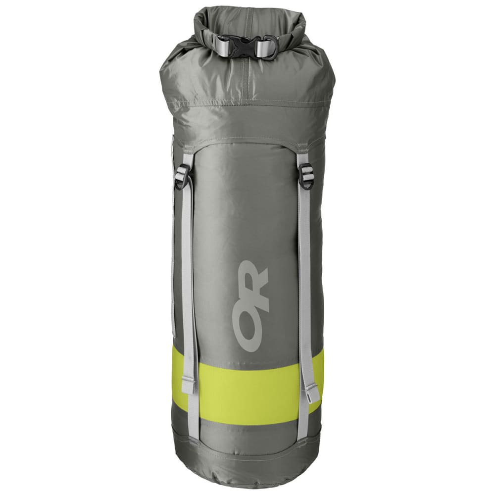 OUTDOOR RESEARCH Airpurge Dry Compression Sack, 10L - PEWTER