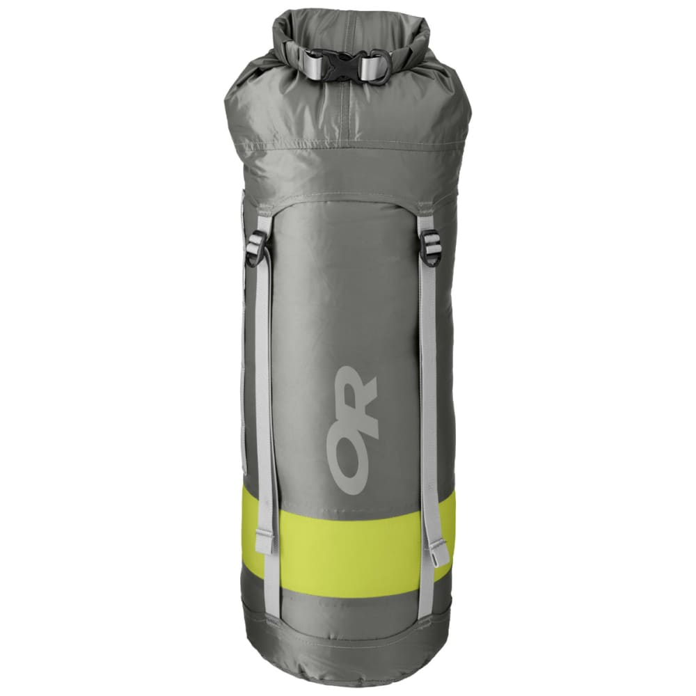 OUTDOOR RESEARCH Airpurge Dry Compression Sack, 15L - PEWTER