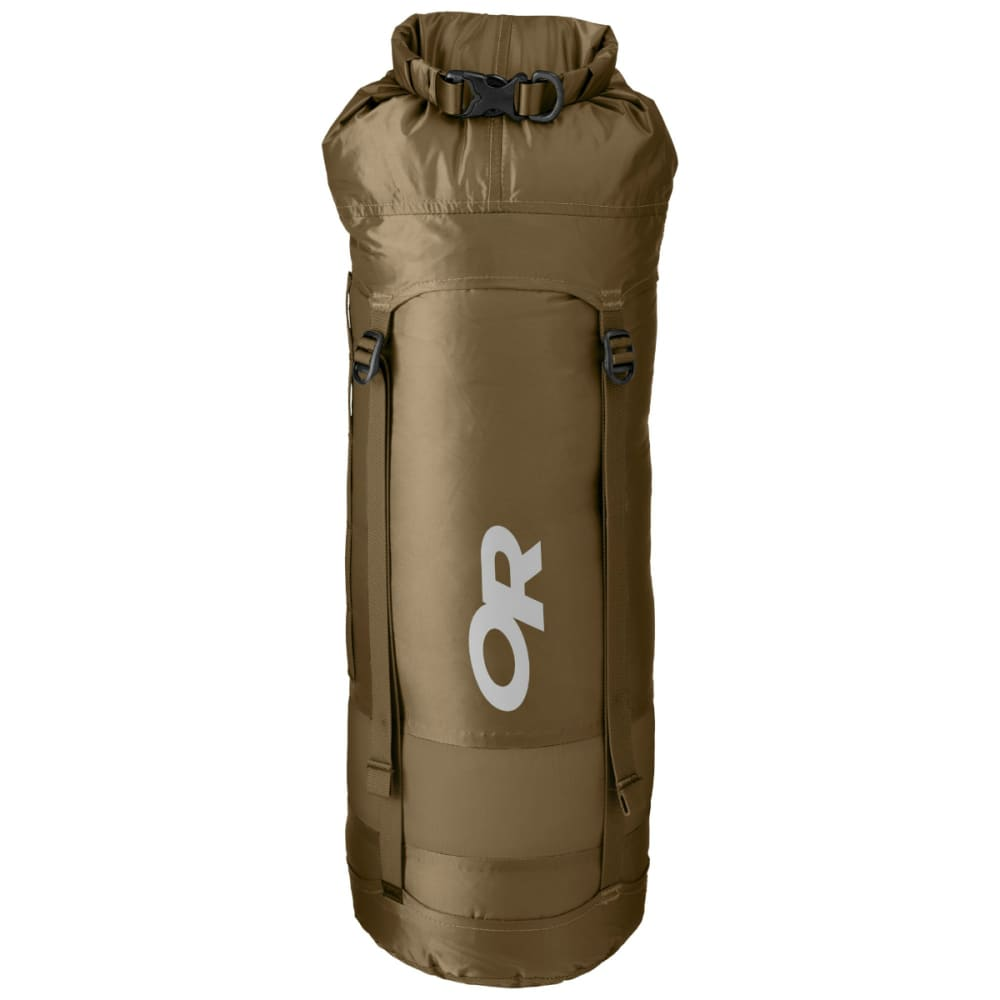 OUTDOOR RESEARCH Airpurge Dry Compression Sack, 15L - COYOTE