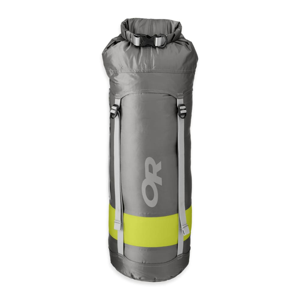 OUTDOOR RESEARCH Airpurge Dry Compression Sack 35L Dry Bag - PEWTER