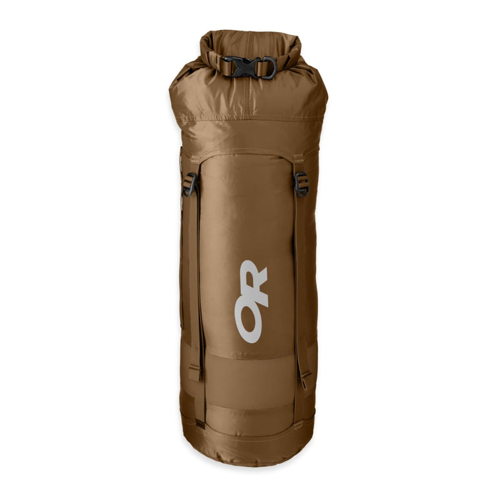 OUTDOOR RESEARCH Airpurge Dry Compression Sack 35L Dry Bag - COYOTE