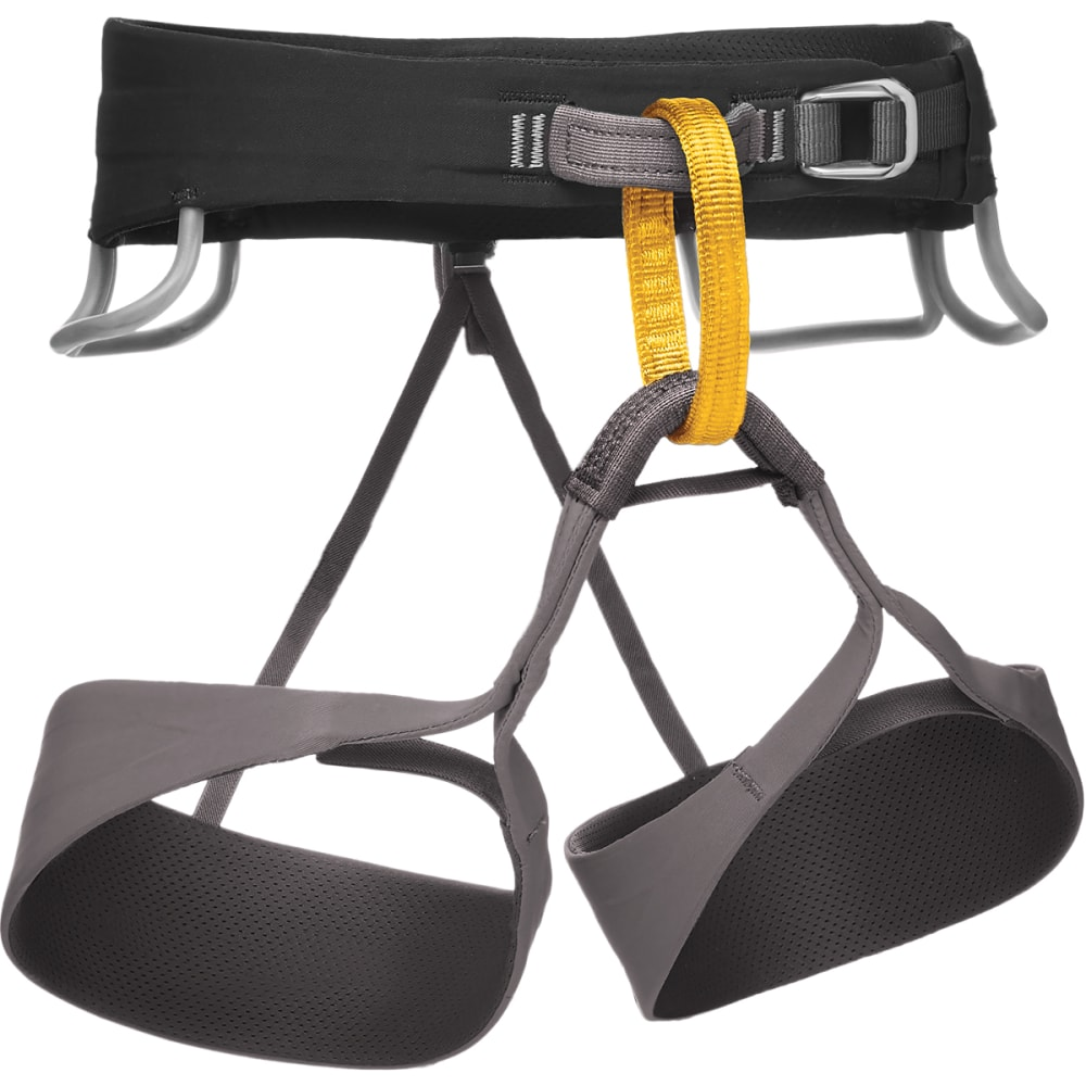 BLACK DIAMOND Men's Solution Harness - BLACK-SLATE
