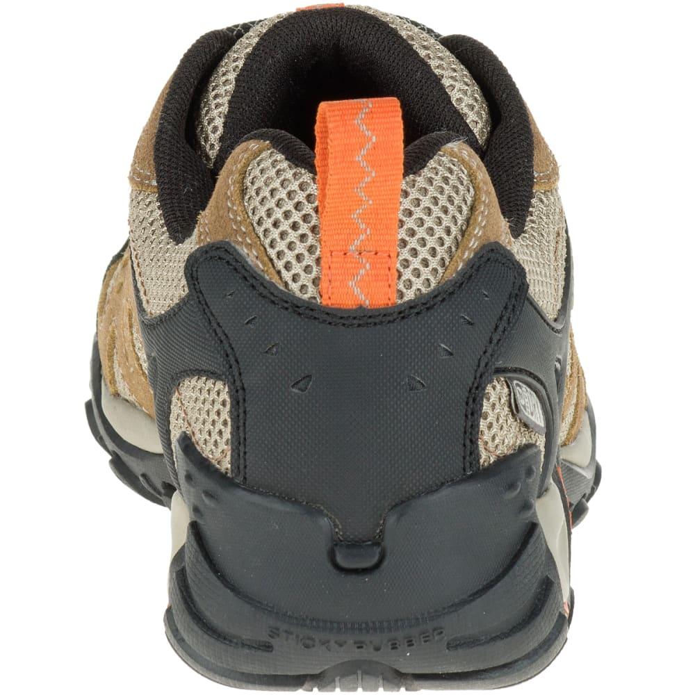 MERRELL Men's Accentor Low Waterproof Hiking Shoes, Otter/Burnt Orange - OTTER/BURNT ORANGE