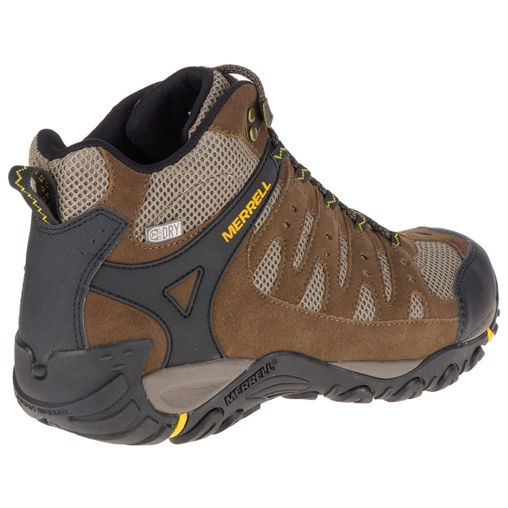 83ab6ef6 MERRELL Men's Accentor Mid Ventilator Waterproof Hiking Boots