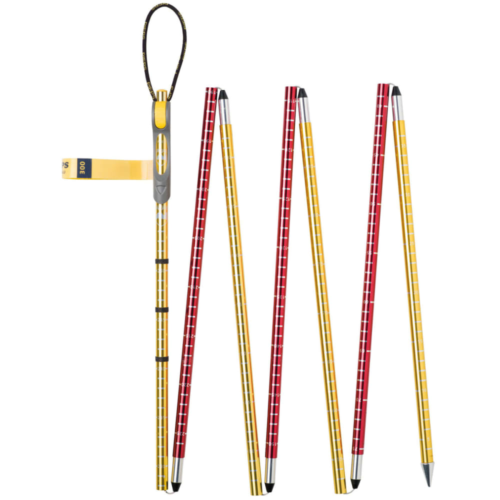 PIEPS Probe Aluminum 300 Probe, Red/Yellow - RED/YELLOW