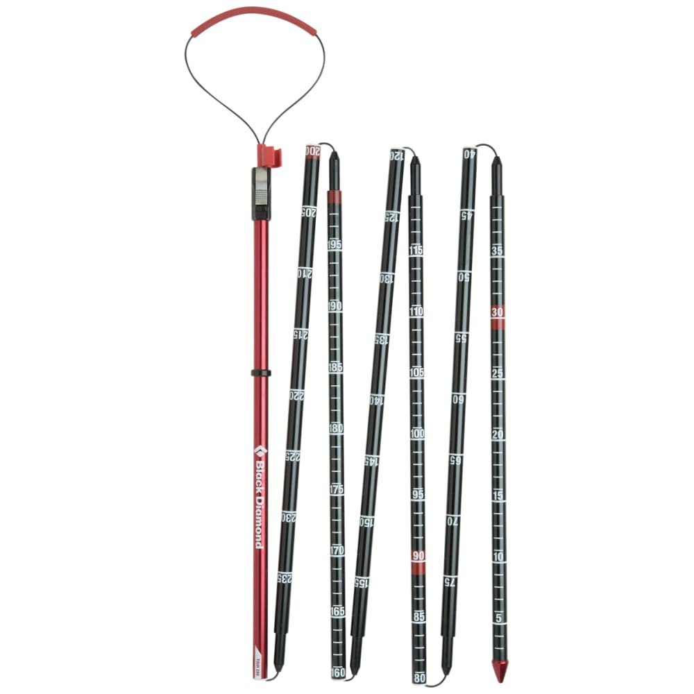 BLACK DIAMOND QuickDraw Tour Probe 280 Probe, Fire Red - FIRE RED