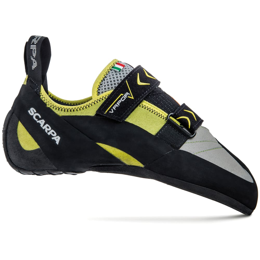 SCARPA Vapor V Climbing Shoes, Lime 40