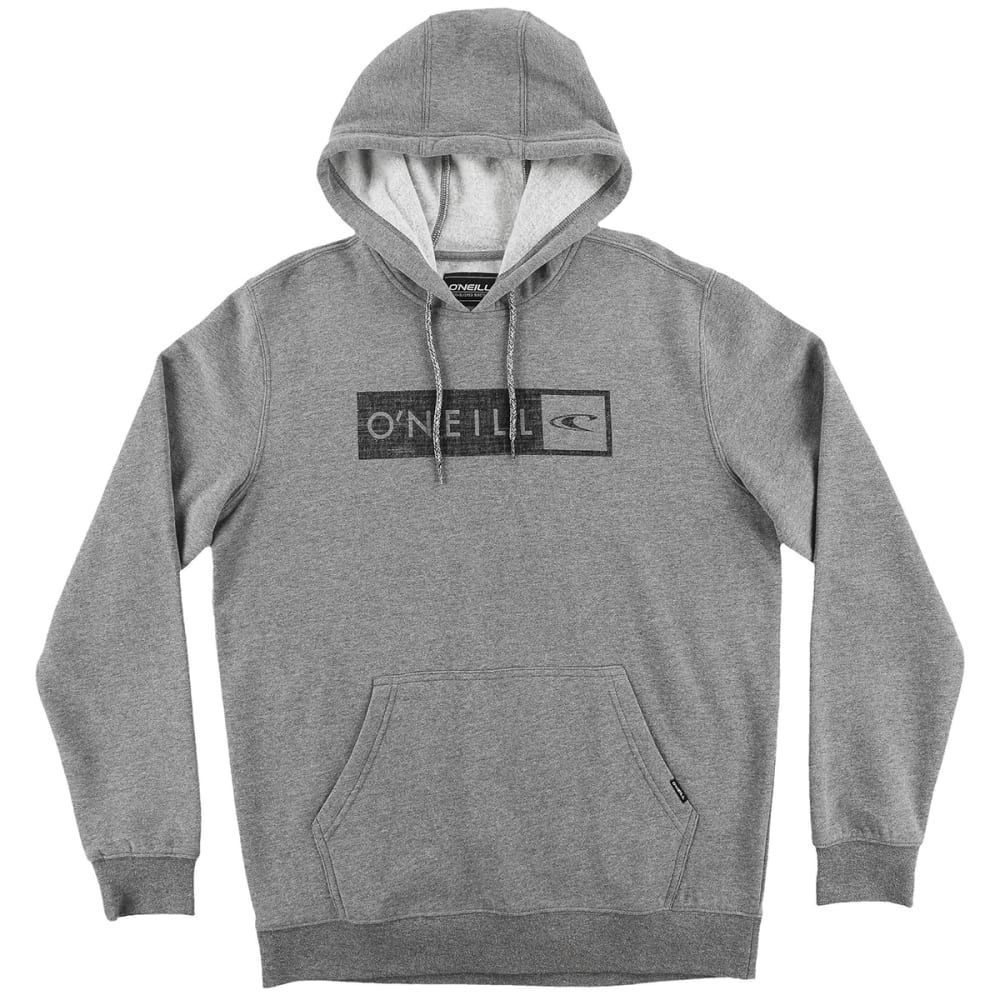 O'NEILL Guys' Framed Pullover Hoodie - GREY/HEATHER-HGR