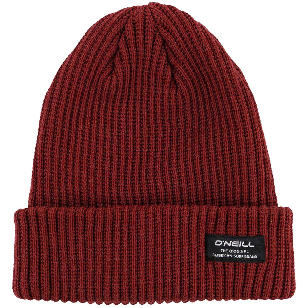 O'NEILL Guys' Biggs Beanie - RED/RUSSET BROWN-RST