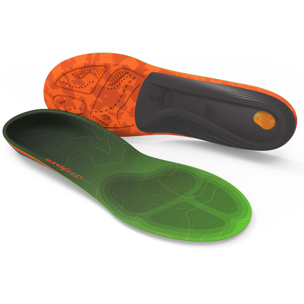 SUPERFEET Men's Trailblazer Comfort Max Insoles - ASSORTED