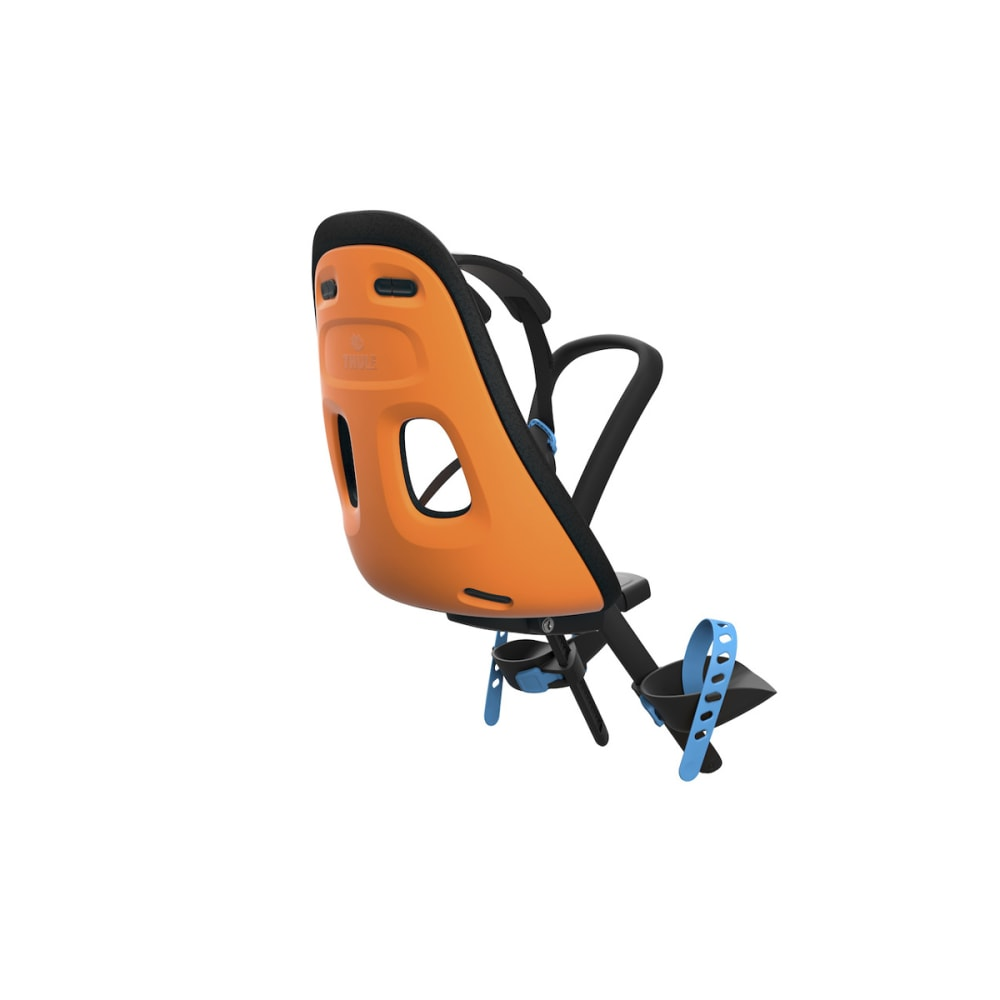 THULE Yepp Next Mini Child Bike Seat, Vibrant Orange - VIBRANT ORANGE