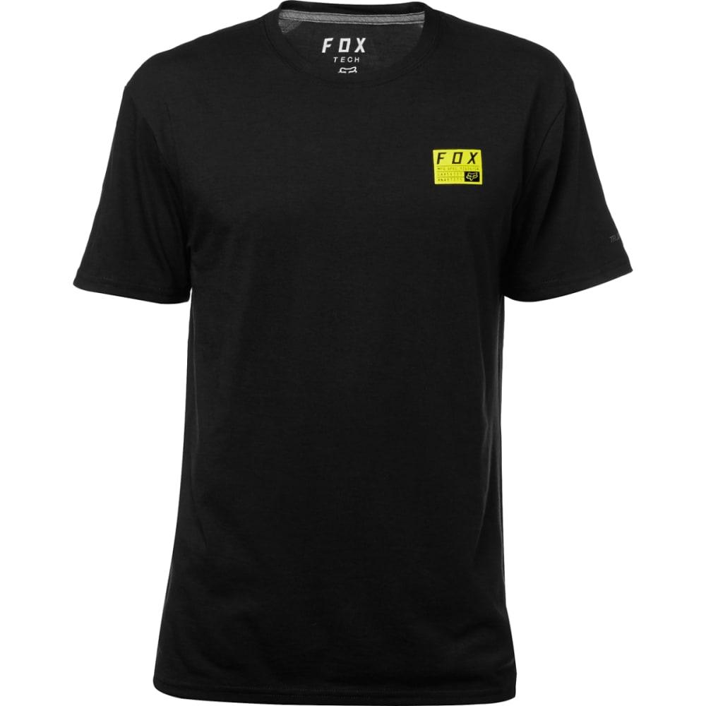 FOX Men's Mx Raised Tech Tee Shirt - BLACK-001