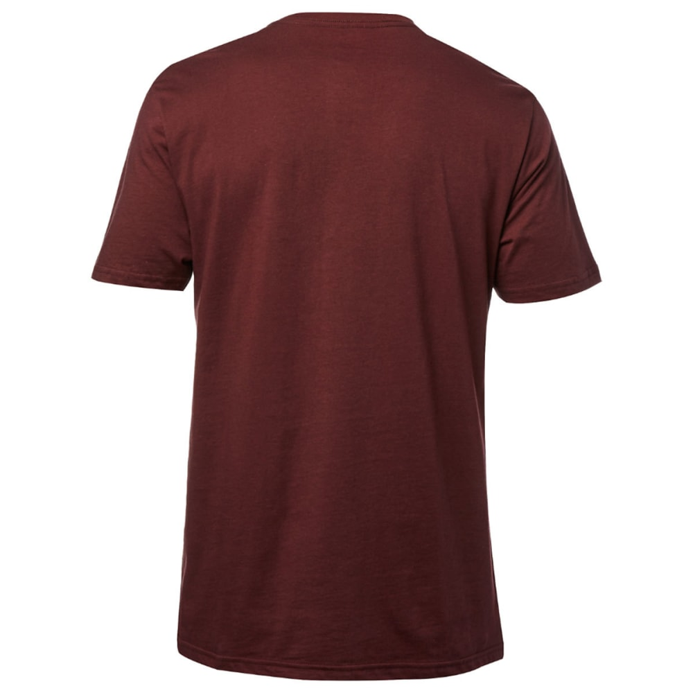 FOX RACING Guys' Zerio Premium Short-Sleeve Tee - MAROON/HEATHER-299