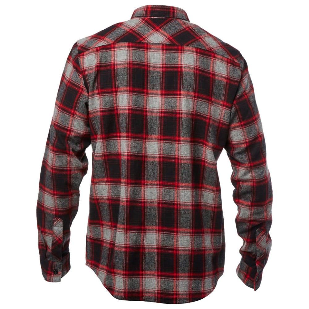 FOX Guys' Traildust Flannel Shirt - HEATHER GRAPHITE-185