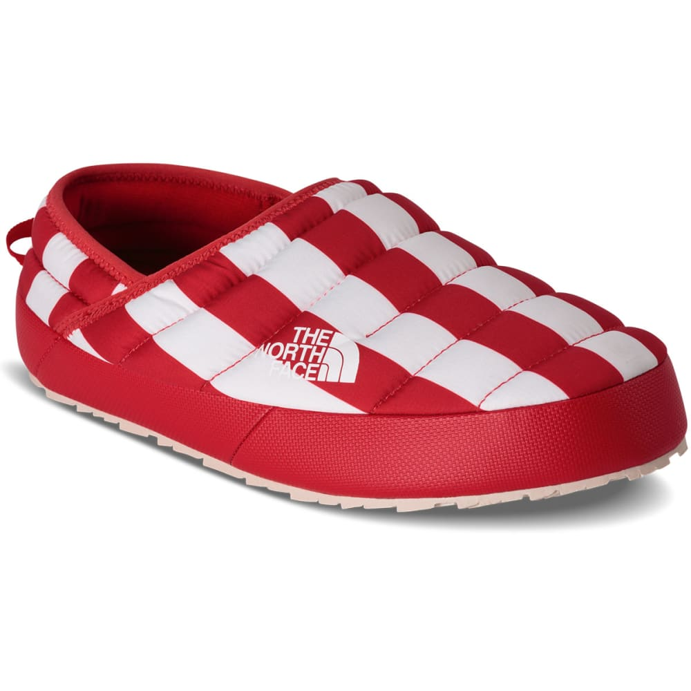 THE NORTH FACE Women's IC NSE Traction Mule Slippers, Cosmic Blue/TNF Red - COSMIC BLUE/TNF RED