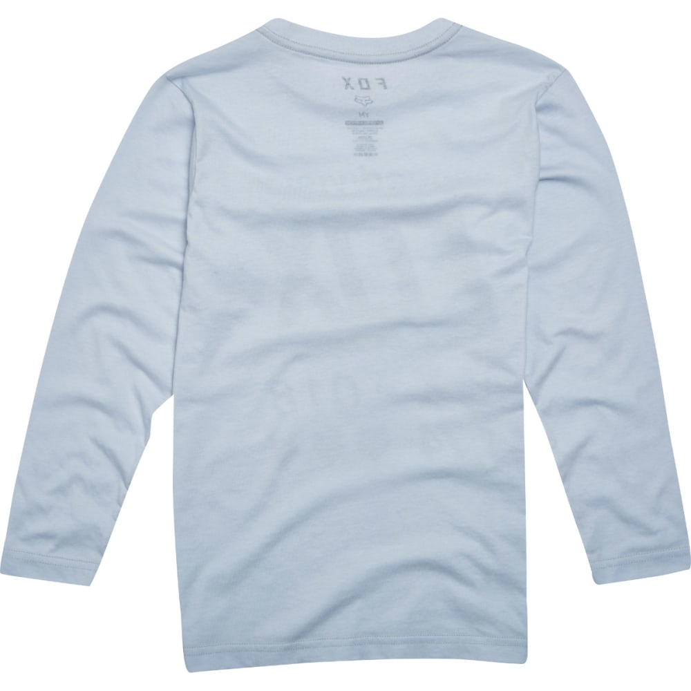 FOX Boys' Draftr Long-Sleeve Tee - GREY/HEATHER-040
