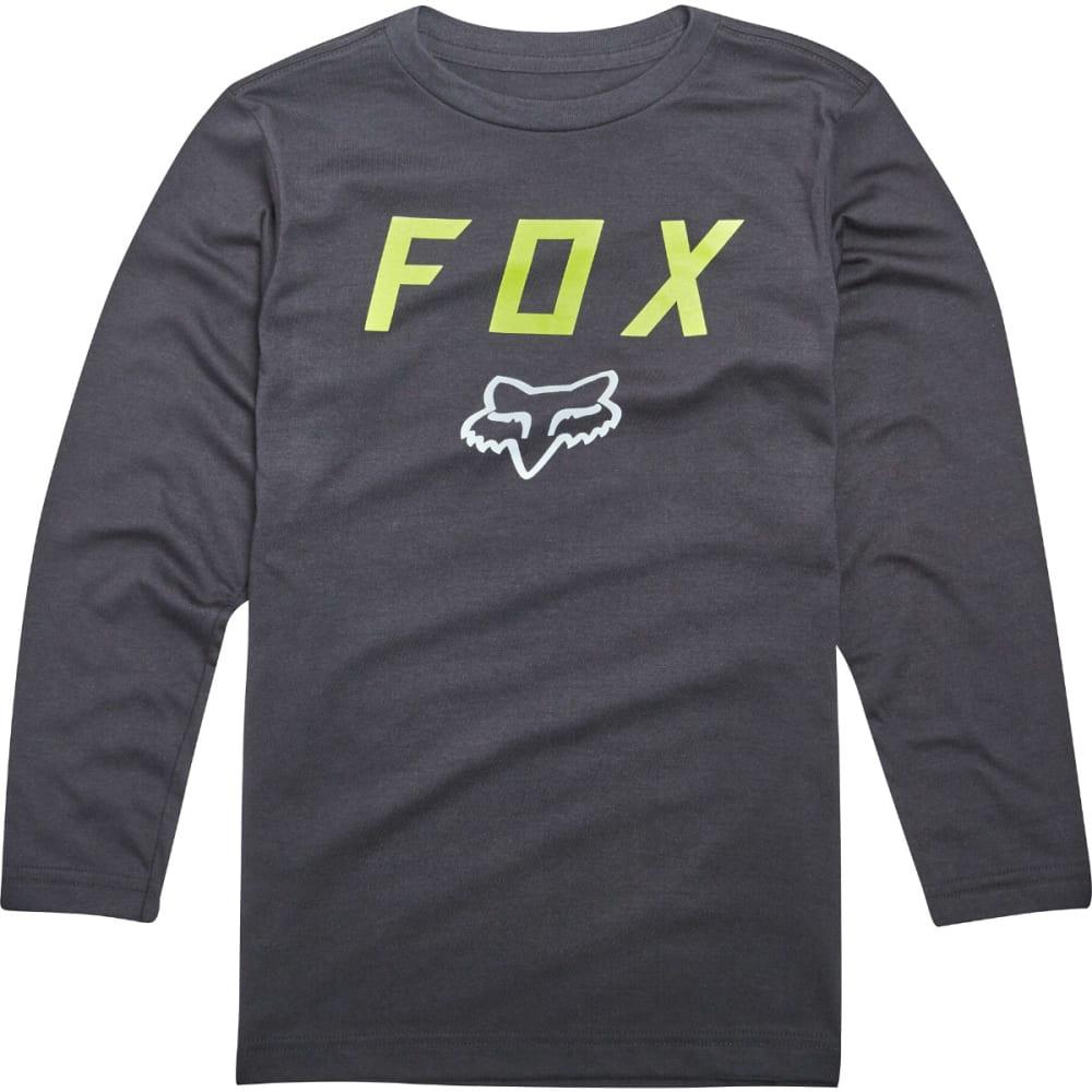 FOX Boys' Dusty Trails Long-Sleeve Tee - BLACK-001