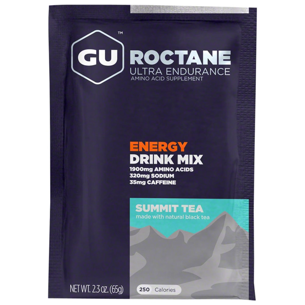 GU Summit Tea Roctane Energy Drink Mix - SUMMIT TEA