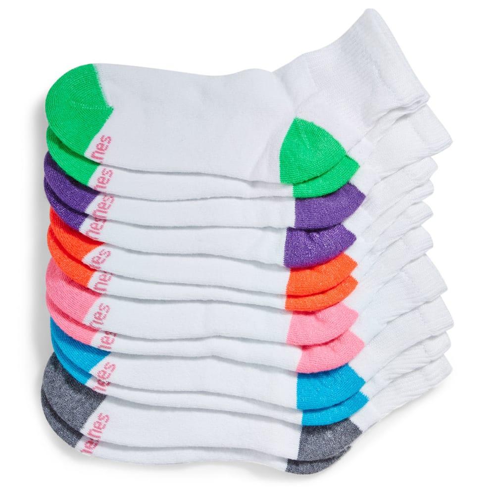 HANES Women's Ultimate Ankle Socks, 6-Pack 5-9