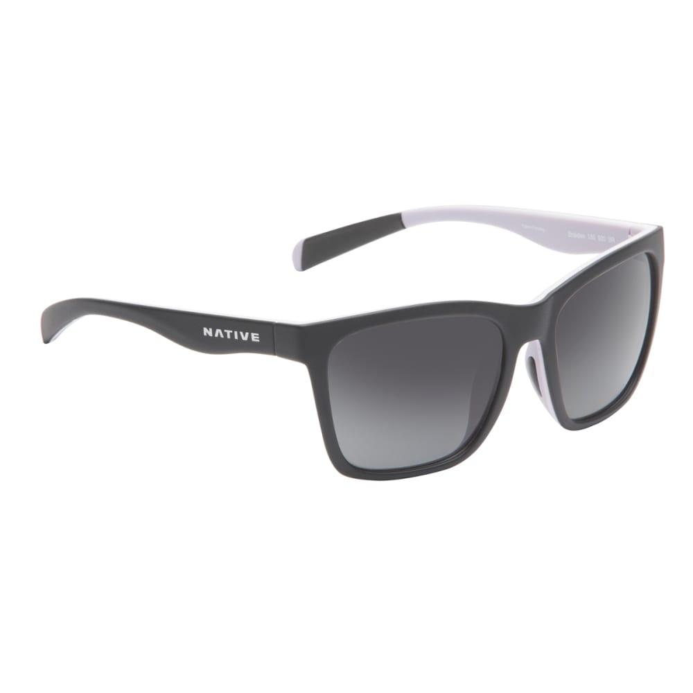 NATIVE EYEWEAR Braiden Polarized Sunglasses - BLACK/BLUSH/VIOLET